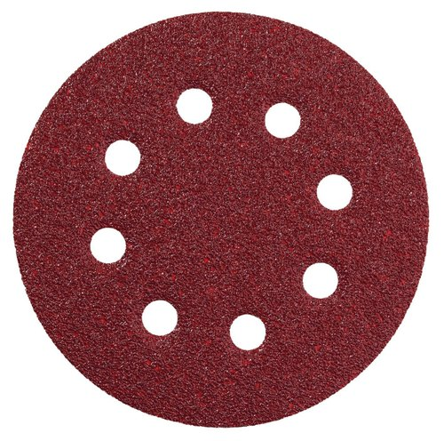 using sanding disc