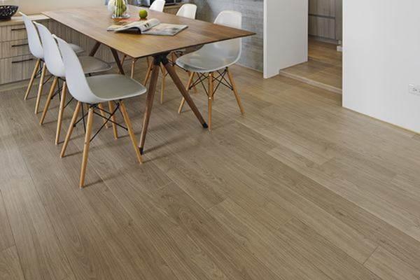 Vinyl fabric floors